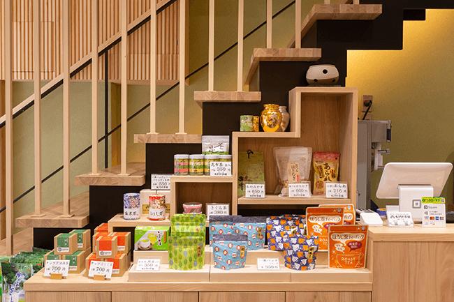 店舗1階お茶