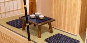 店舗内茶室